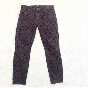 Banana Republic L'wren Scott Brocade Skinny Jeans